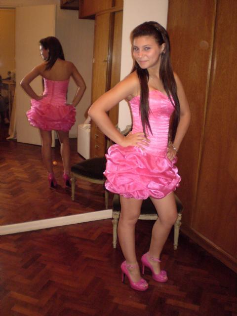 Vestidos rosa chicle para boda